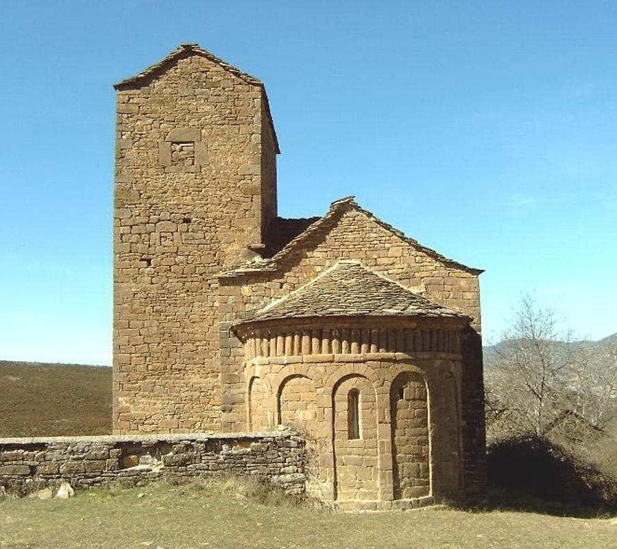 Iglesias del Serrablo San Andres de Satue