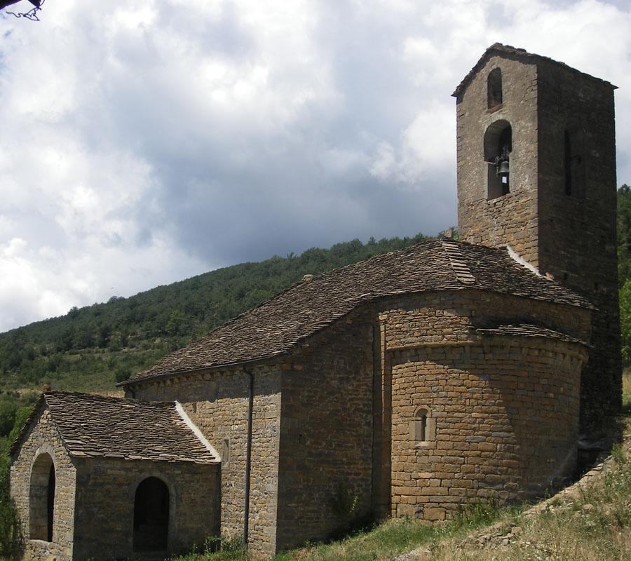 Iglesias del Serrablo San Juan y Santa María Espierre