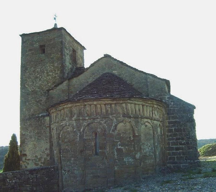 Iglesias del Serrablo Santa Maria de Isun de Basa