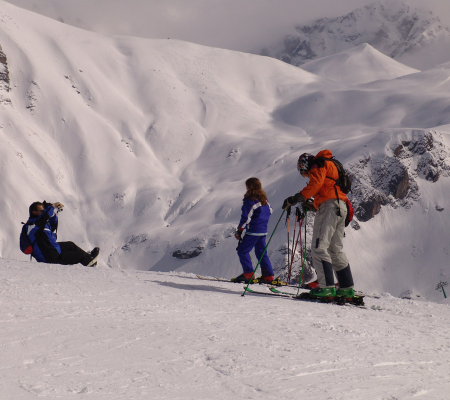 actividades comarca alto gallego esqui alpino