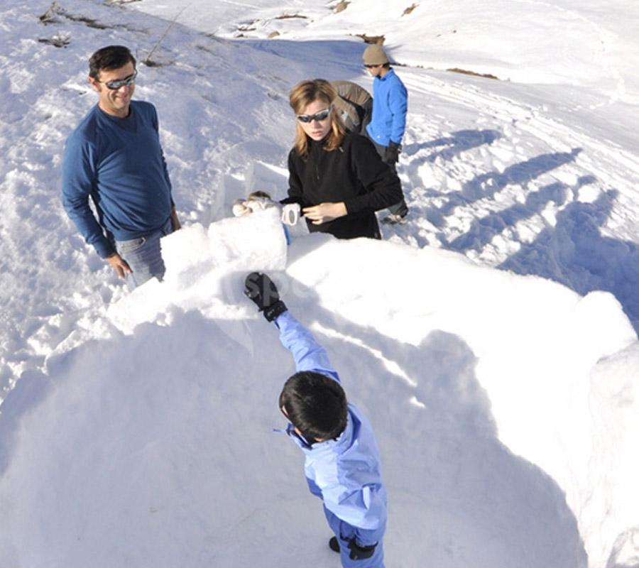 construccion iglus comarca alto gallego