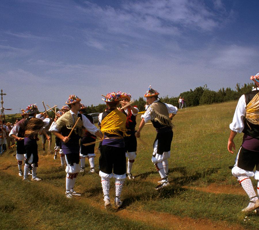 Danzantes Comarca Alto Gállego Tradiciones