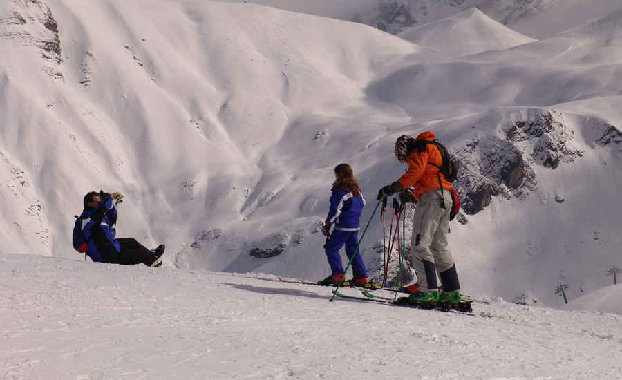 esqui alpino en la comarca alto gallego