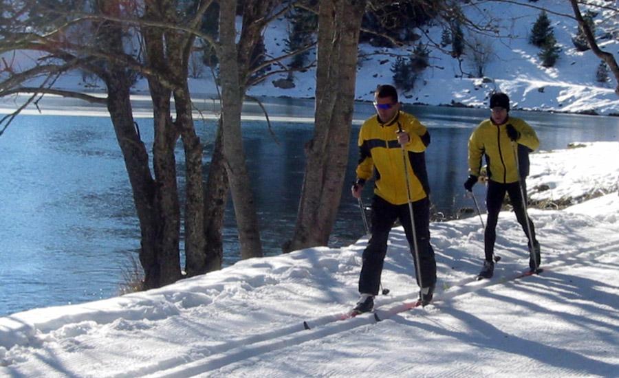 esqui nordico o esqui de fondo en la comarca alto gallego