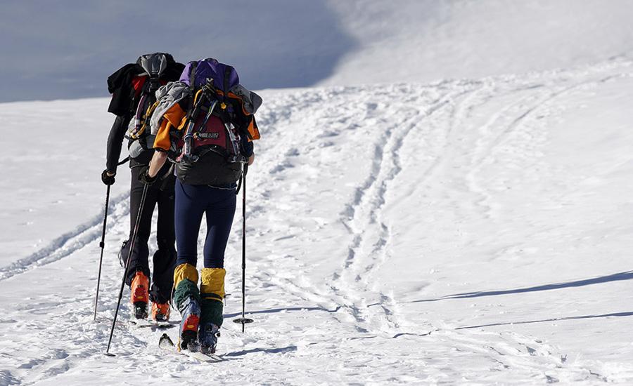 esqui travesia en la comarca alto gallego