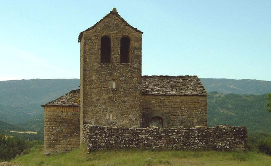 Iglesias del Serrablo San Martin de Ordoves
