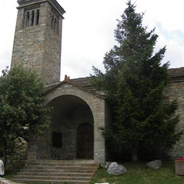 Iglesias del Serrablo San Salvador de Basaran