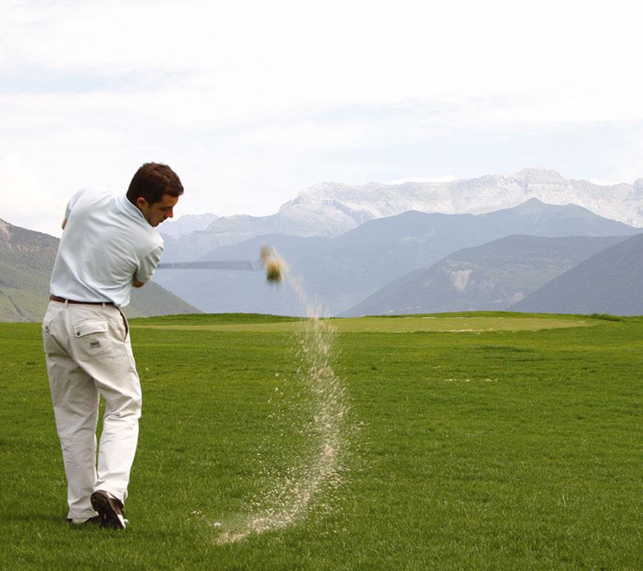 golf en la comarca del alto gallego