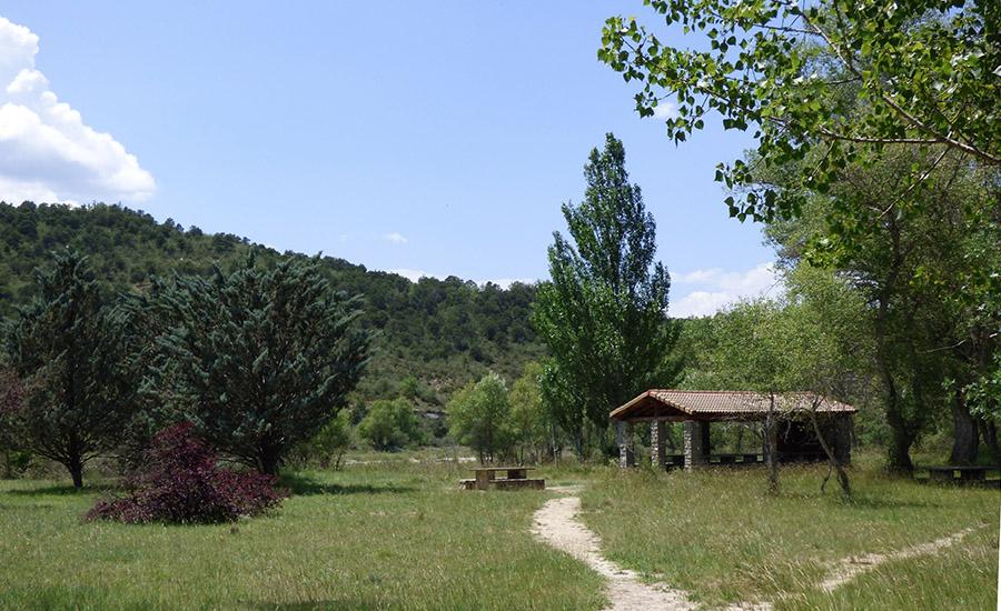 zona descanso rio guarga
