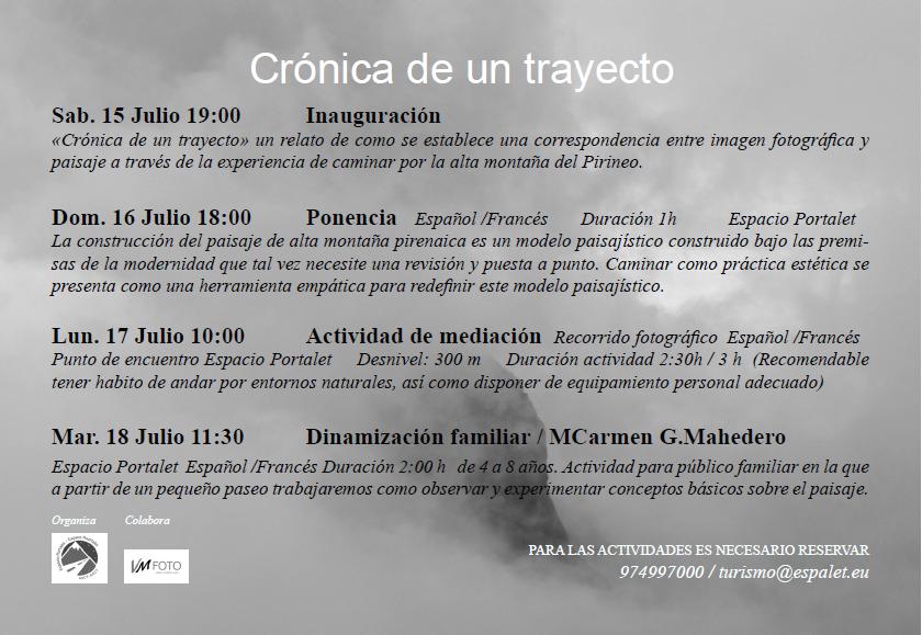 Exposición en Portalet