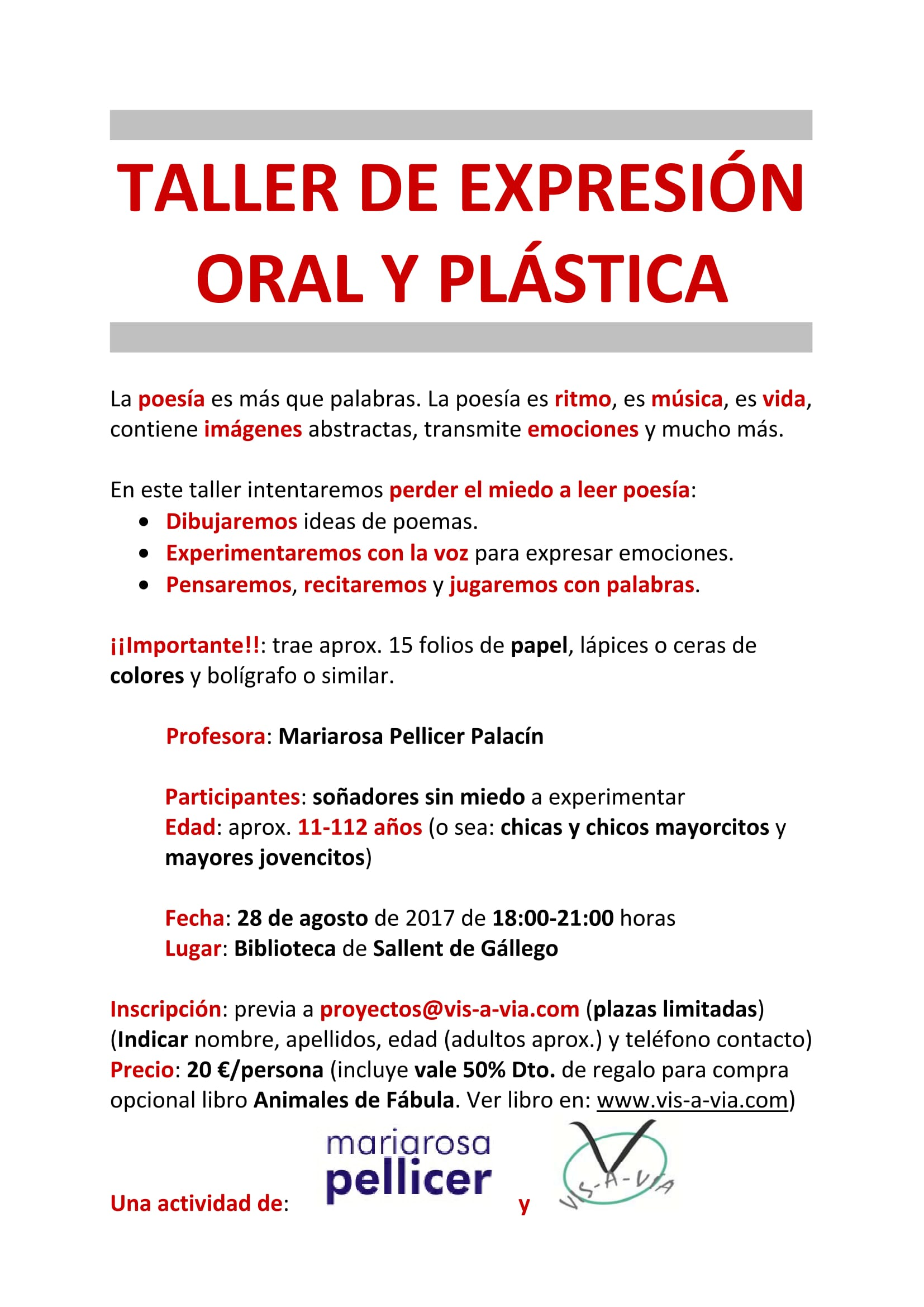 TALLER EXPRESION ORAL Y PLASTICA-1