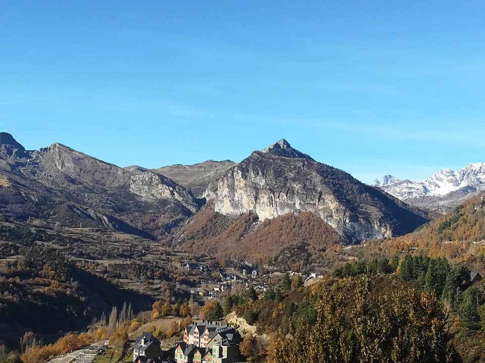 lugares con vistas en el Alto Gállego