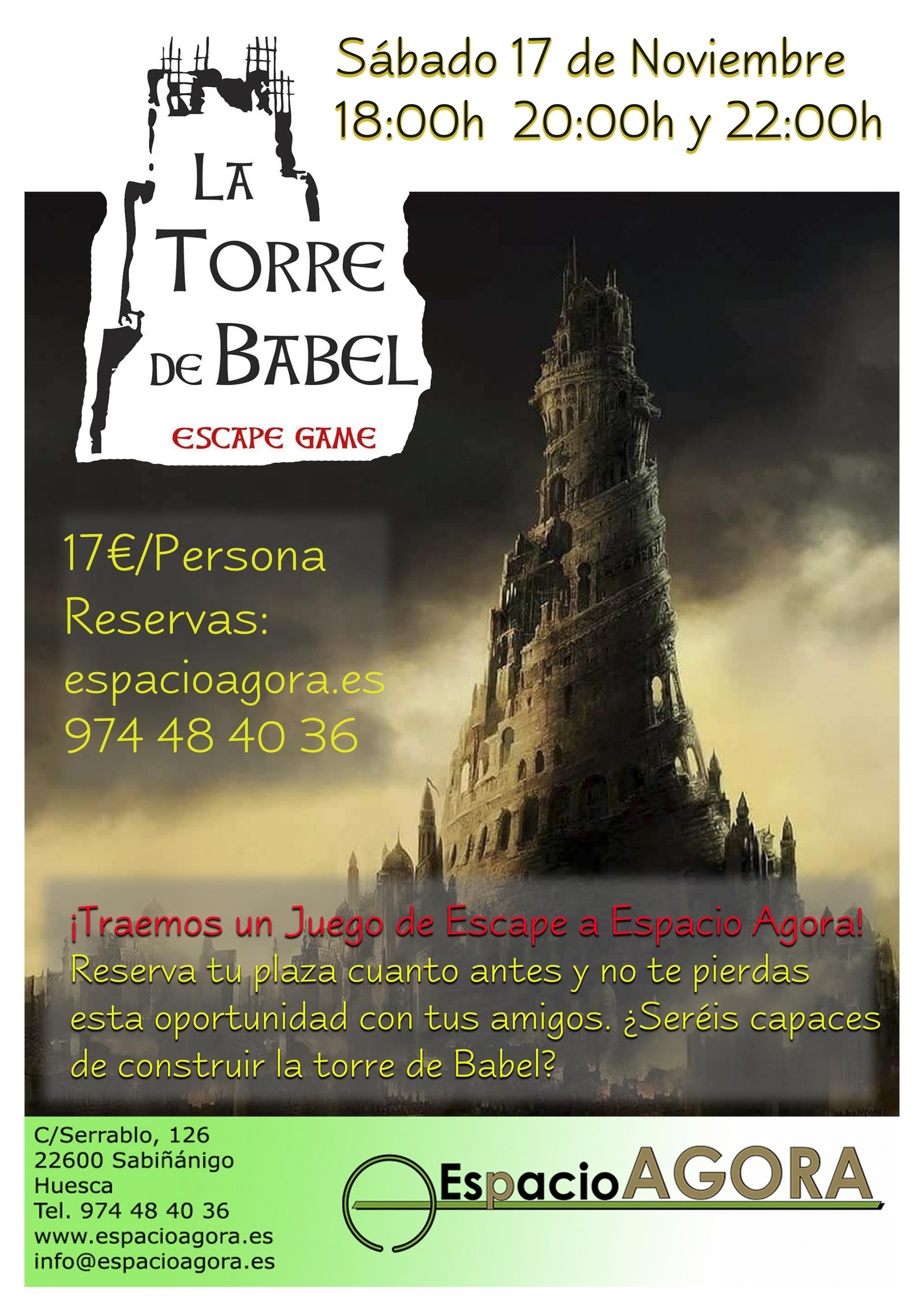 cartel torre de babel (1)